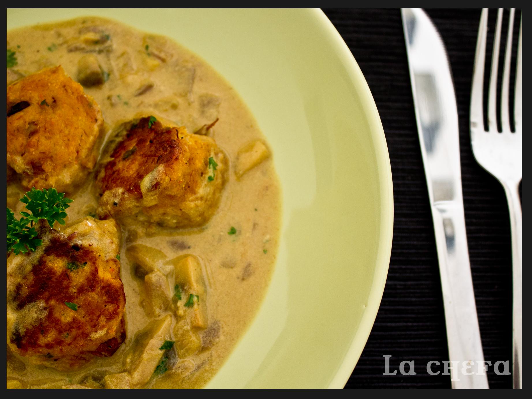 Bocaditos de cocido en salsa de curry lachefa - Salsa para bogavante cocido ...